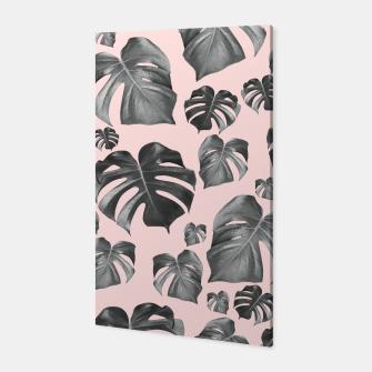 Thumbnail image of Tropical Monstera Pattern #6 #tropical #decor #art Canvas, Live Heroes