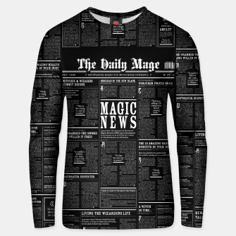 Thumbnail image of The Daily Mage Magic Fantasy Newspaper II Cotton sweater, Live Heroes