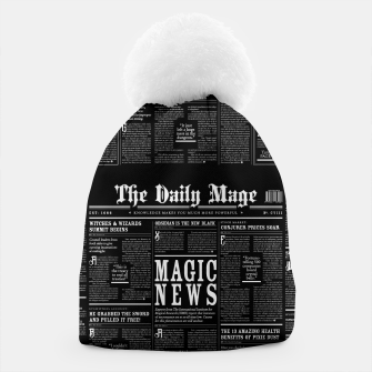 Thumbnail image of The Daily Mage Magic Fantasy Newspaper II Beanie, Live Heroes