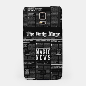 Thumbnail image of The Daily Mage Magic Fantasy Newspaper II Samsung Case, Live Heroes