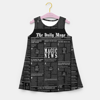Thumbnail image of The Daily Mage Magic Fantasy Newspaper II Girl's summer dress, Live Heroes