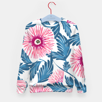Miniaturka Gerbera Bloom Kid's sweater, Live Heroes