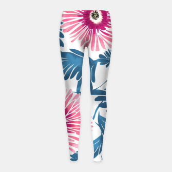 Miniaturka Gerbera Bloom Girl's leggings, Live Heroes