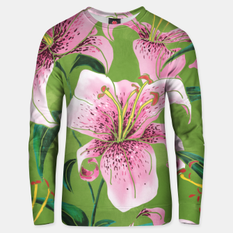 Thumbnail image of Tiger Lily Cotton sweater, Live Heroes