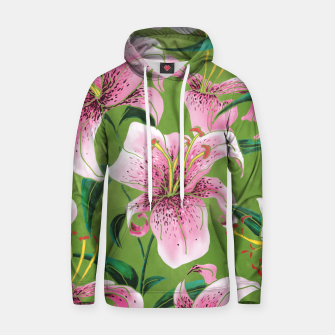 Thumbnail image of Tiger Lily Cotton hoodie, Live Heroes