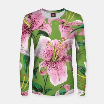 Miniaturka Tiger Lily Woman cotton sweater, Live Heroes