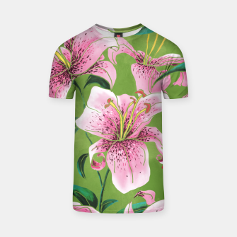 Thumbnail image of Tiger Lily T-shirt, Live Heroes