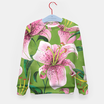 Miniatur Tiger Lily Kid's sweater, Live Heroes