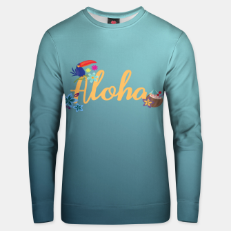 Thumbnail image of Aloha Cotton sweater, Live Heroes