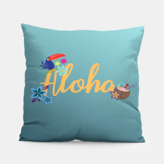 Thumbnail image of Aloha Pillow, Live Heroes