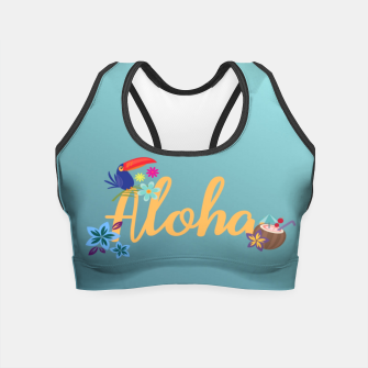 Thumbnail image of Aloha Crop Top, Live Heroes