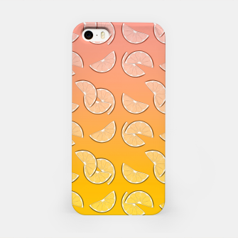 Miniatur Grapefruit pattern iPhone Case, Live Heroes