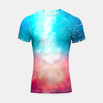 Galaxy Shortsleeve rashguard miniature