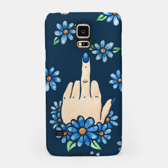 Thumbnail image of Middle finger Samsung Case, Live Heroes