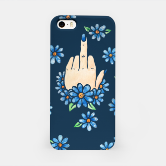 Thumbnail image of Middle finger iPhone Case, Live Heroes