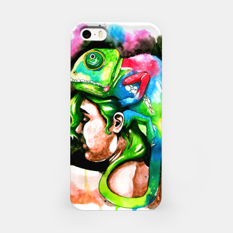 Thumbnail image of good hair day iPhone Case, Live Heroes