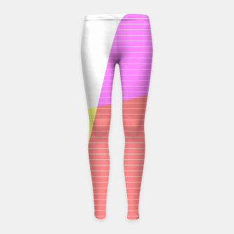 Thumbnail image of Distortion 2 Leggings de fille, Live Heroes