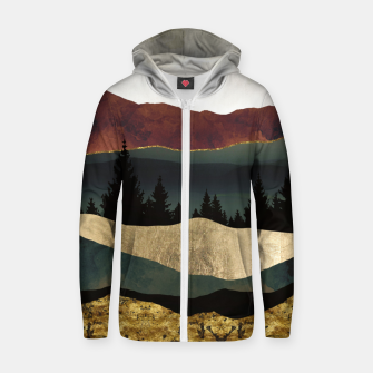 Thumbnail image of Early Autumn Cotton zip up hoodie, Live Heroes