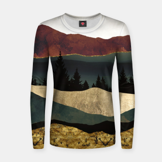 Thumbnail image of Early Autumn Woman cotton sweater, Live Heroes