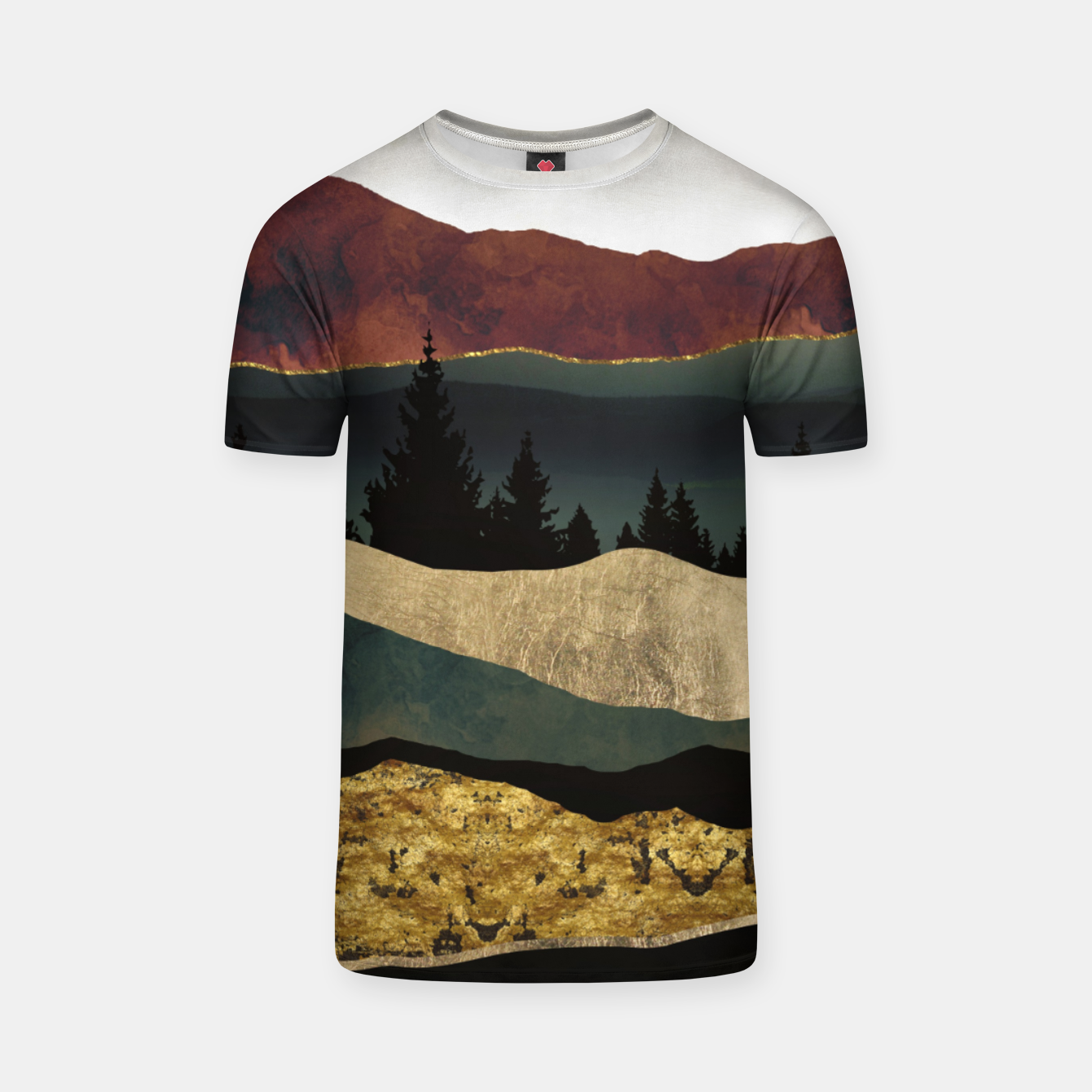 Image of Early Autumn T-shirt - Live Heroes