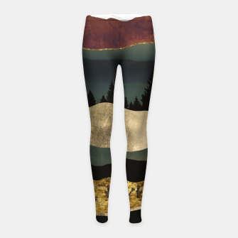 Thumbnail image of Early Autumn Girl's leggings, Live Heroes