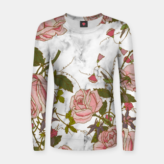 Miniaturka Vintage Roses Woman cotton sweater, Live Heroes