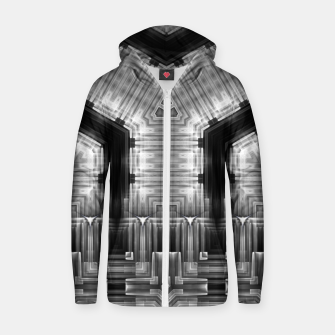 Thumbnail image of Mech Tech FC USD Cotton zip up hoodie, Live Heroes