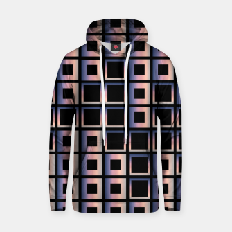 Imagen en miniatura de Square composition on black background Cotton hoodie, Live Heroes