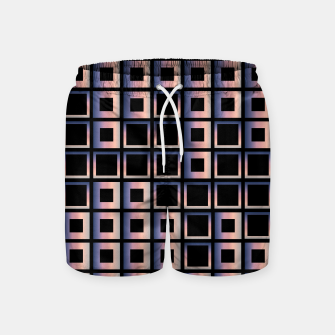 Imagen en miniatura de Square composition on black background Swim Shorts, Live Heroes
