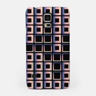 Imagen en miniatura de Square composition on black background Samsung Case, Live Heroes