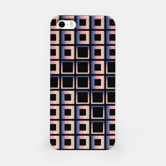 Imagen en miniatura de Square composition on black background iPhone Case, Live Heroes