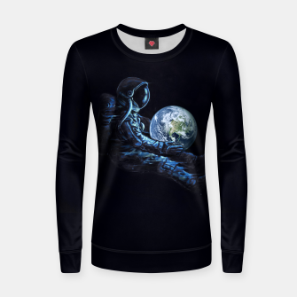 Thumbnail image of Earth Play Woman cotton sweater, Live Heroes