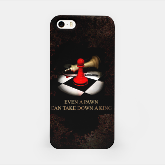 Thumbnail image of Even a pawn can take down a king Obudowa iPhone, Live Heroes