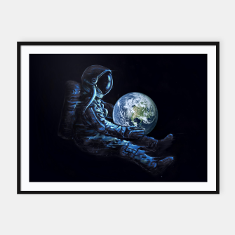 Thumbnail image of Earth Play Framed poster, Live Heroes