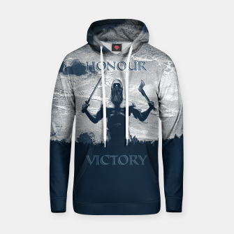Thumbnail image of Viking Honour Cotton hoodie, Live Heroes