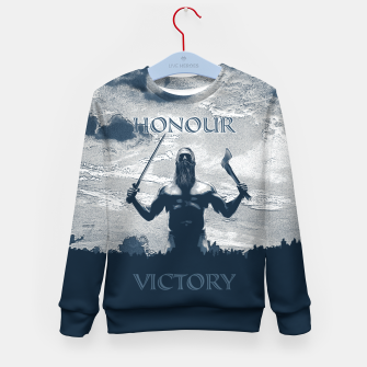 Thumbnail image of Viking Honour Kid's sweater, Live Heroes