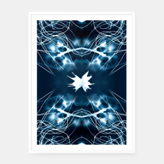 Thumbnail image of Dream Catcher |  White Framed poster, Live Heroes