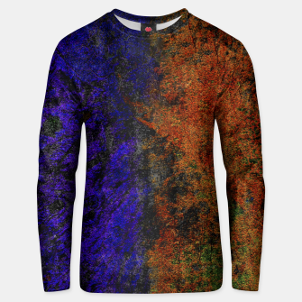 Miniature de image de Colored Rusty Abstract Grunge Texture Print Cotton sweater, Live Heroes
