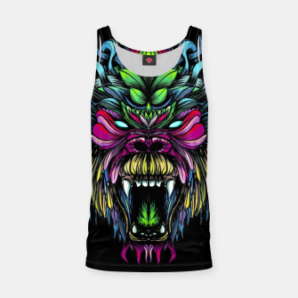 Thumbnail image of Gorilla Black Tank Top, Live Heroes