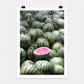 Thumbnail image of Melones Plakat, Live Heroes