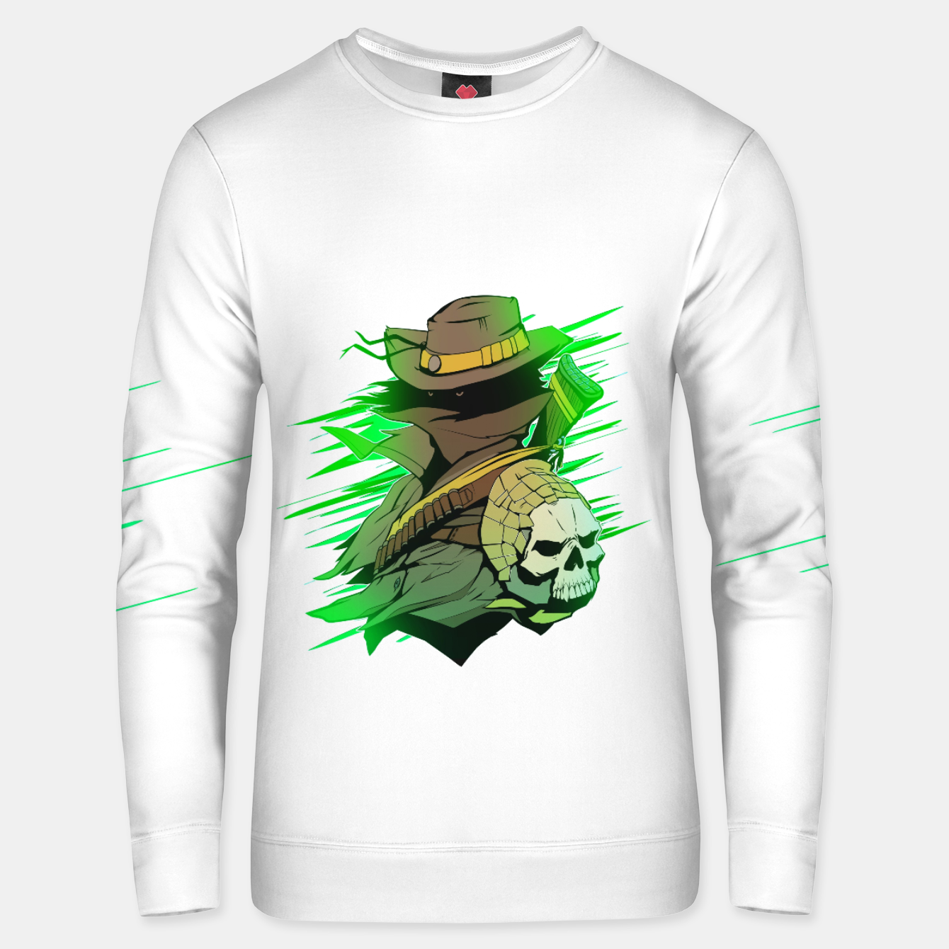 Image of greenhunter Cotton sweater - Live Heroes