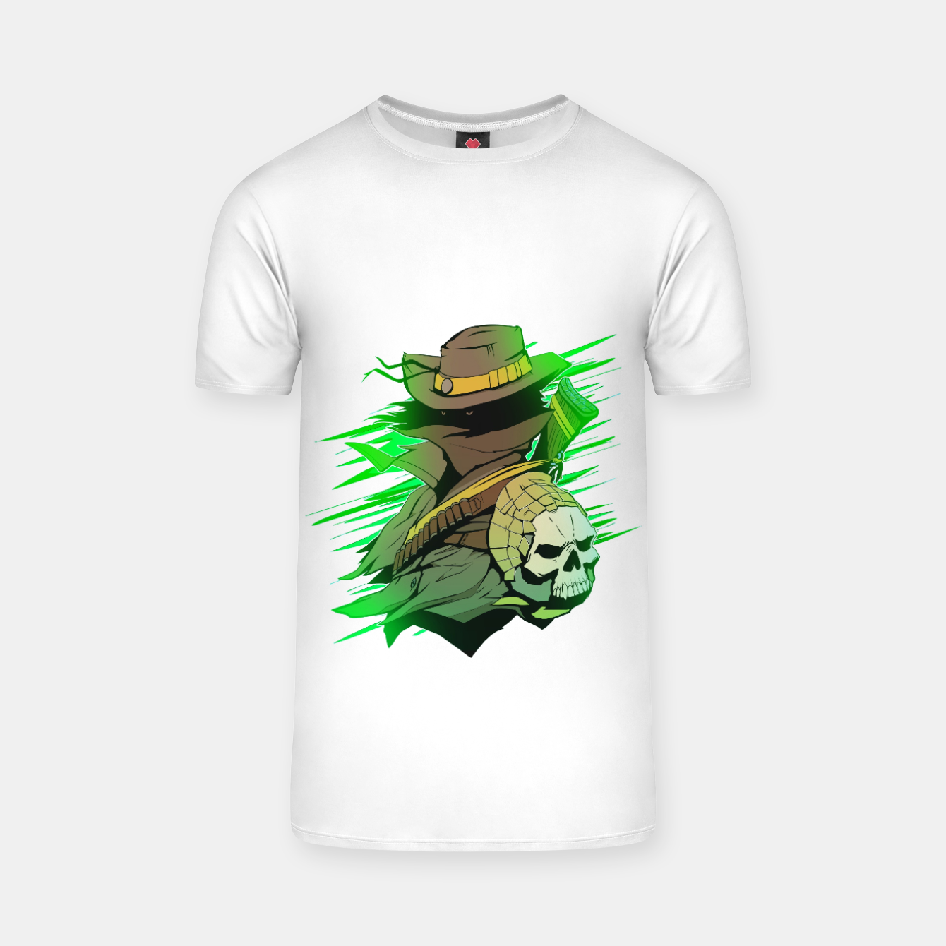 Image of greenhunter T-shirt - Live Heroes
