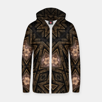 Thumbnail image of ArchPort Star Cotton zip up hoodie, Live Heroes