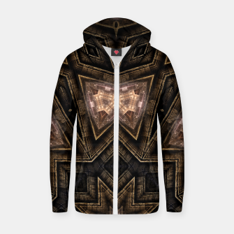 Thumbnail image of ArchPort Star USD Cotton zip up hoodie, Live Heroes