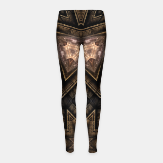 Thumbnail image of ArchPort Star USD Girl's leggings, Live Heroes