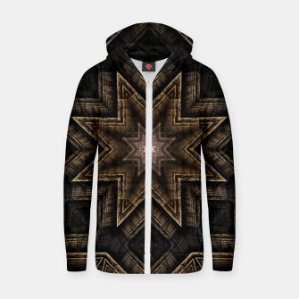 Thumbnail image of ArchPort Star ZM Cotton zip up hoodie, Live Heroes