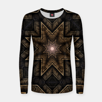 Thumbnail image of ArchPort Star ZM Woman cotton sweater, Live Heroes