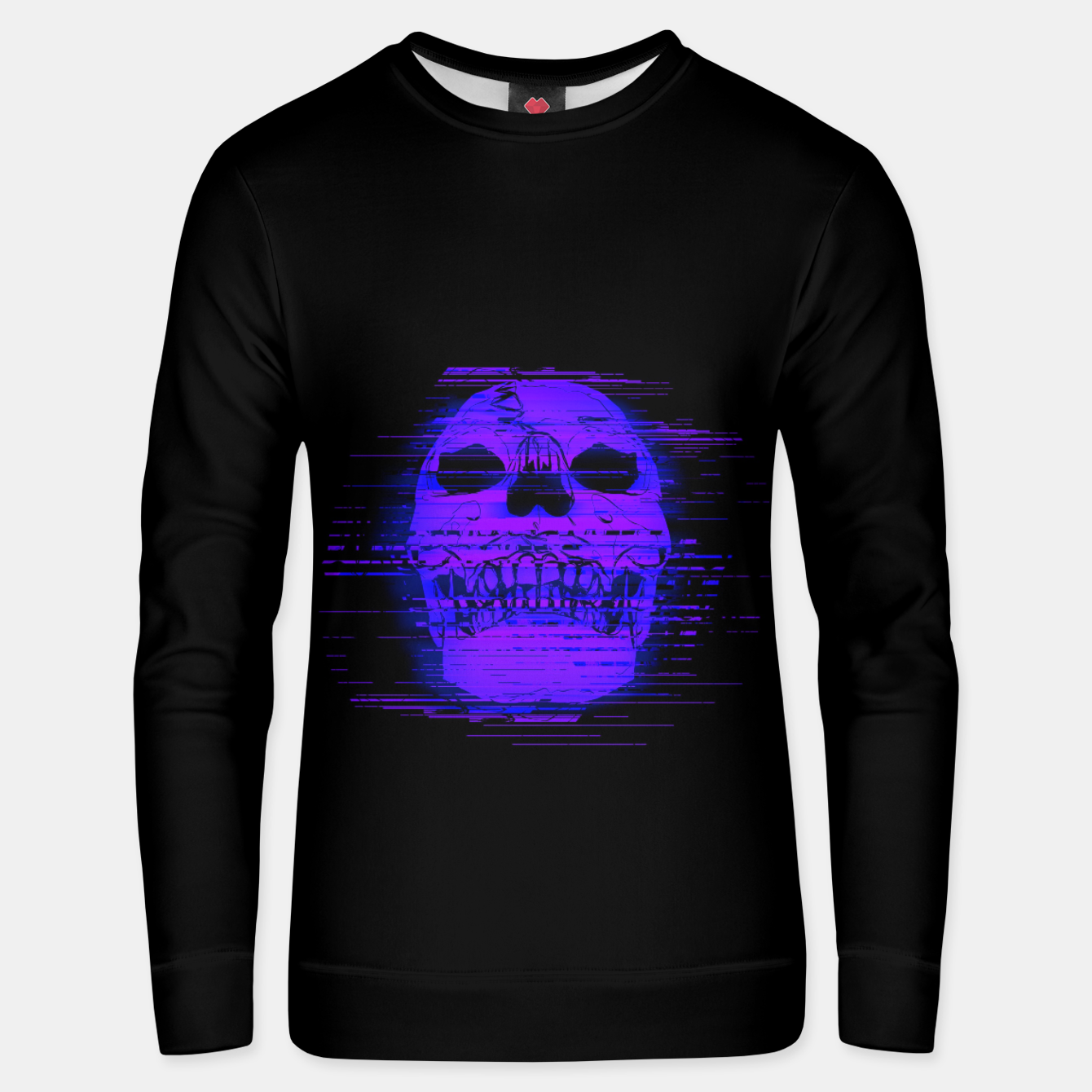 Image of glitchworld Cotton sweater - Live Heroes