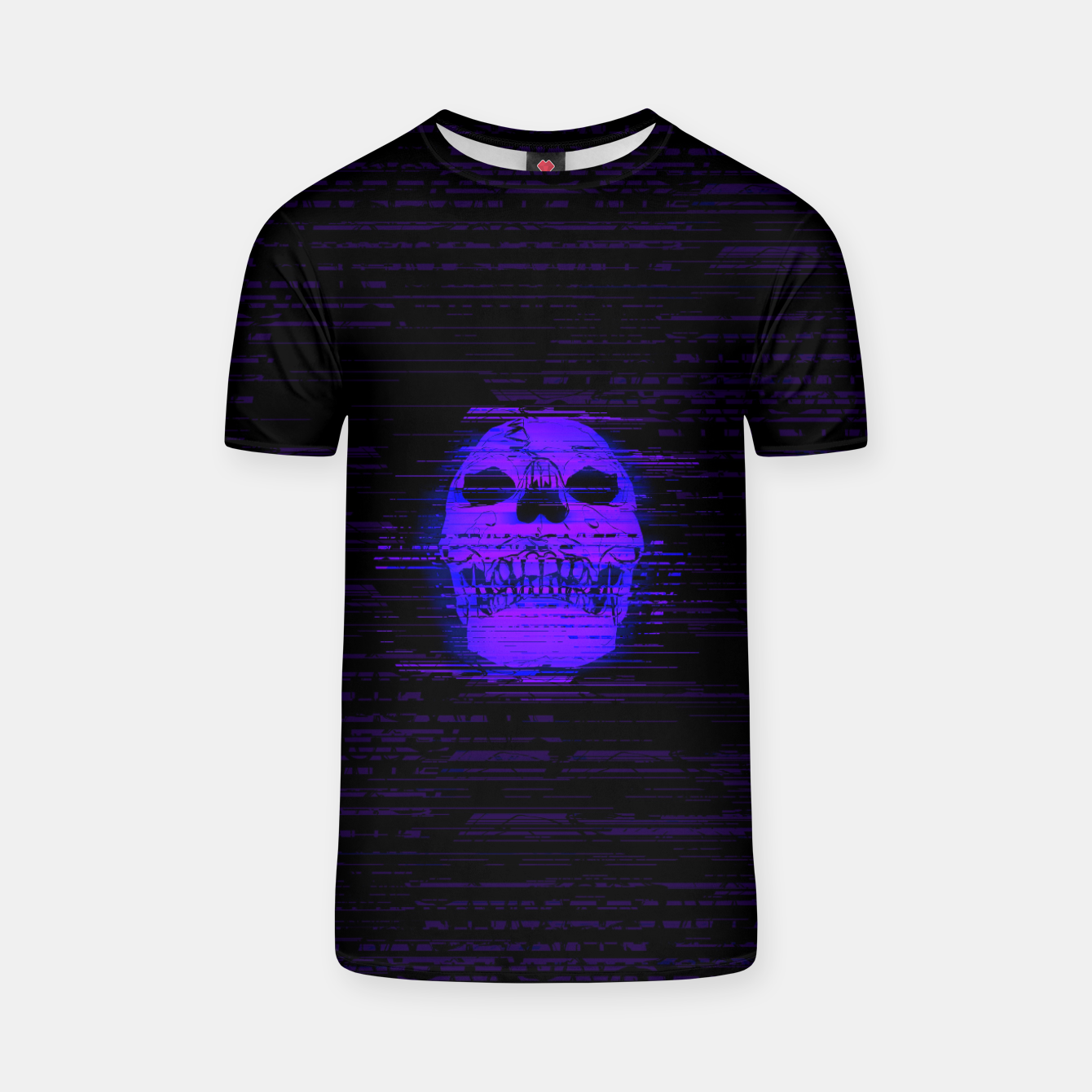 Image of glitchworld_xtreme T-shirt - Live Heroes