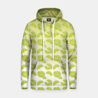 Miniatur lime pattern Cotton hoodie, Live Heroes